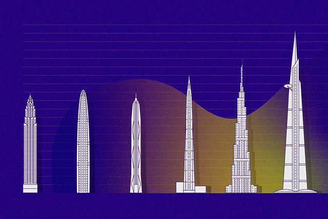 Du mythe de la tour de Babel à l'inauguration du Burj Khalifa, l'humanité a... (ILLUSTRATION JANE FORTIER)