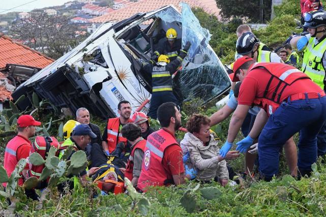 Portugal: 28 touristes allemands tués dans un accident d'autocar