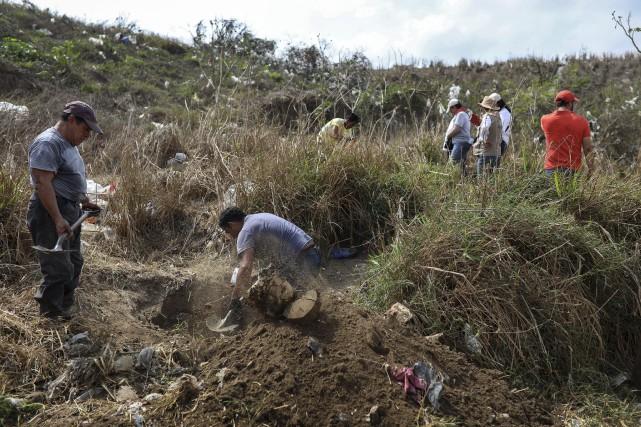 Plus de 40000personnes sont actuellement portées disparues au... (PHOTO FELIXMARQUEZ, ARCHIVES AP)