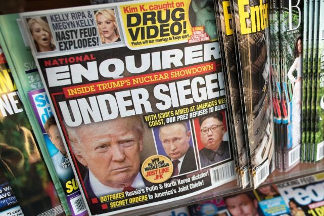 Le PDG d'American Media Inc. a récemment accepté... (PHOTO AP)