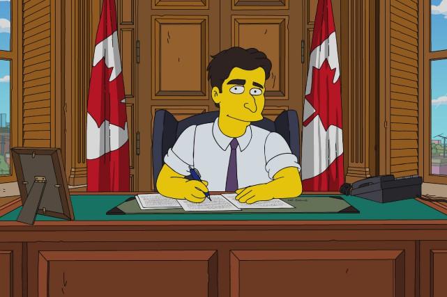 Le premier ministre canadien Justin Trudeau dans Les... (PHOTO LA PRESSE CANADIENNE)