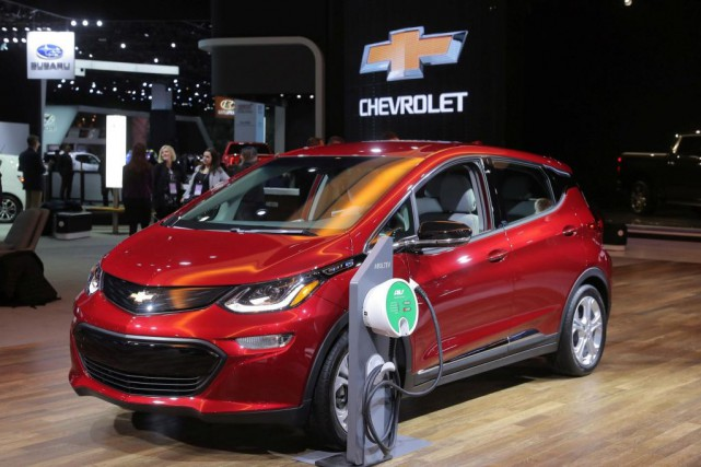 Chevrolet Bolt 2019... (PHOTO REBECCA COOK, ARCHIVES REUTERS)