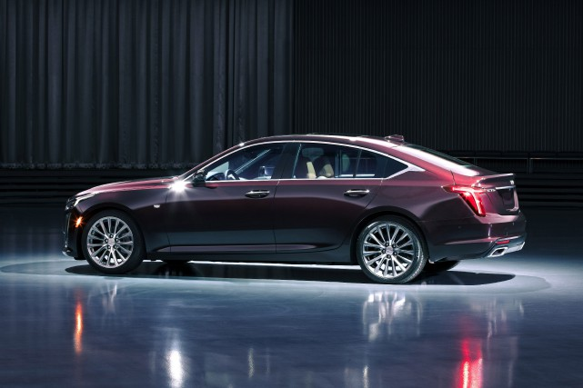 Cadillac CT5.... (PHOTO CADILLAC)