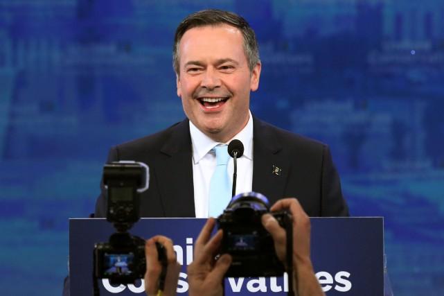 Jason Kenney devient le 18e premier ministre de... (PHOTO CHRIS WATTIE, REUTERS)