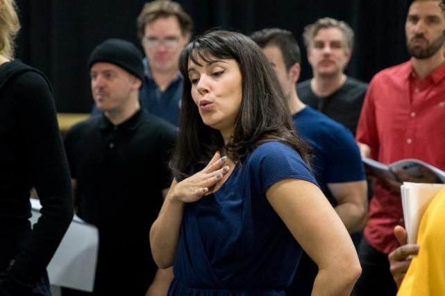 Joëlle Lanctôt a décroché le rôle principal de... (PHOTO MARCO CAMPANOZZI, LA PRESSE)