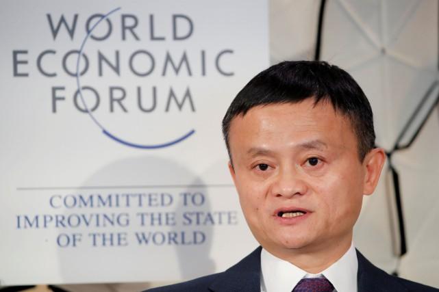 Jack Ma, l'emblématique fondateur du géant du commerce... (PHOTO ARND WIEGMANN, REUTERS)