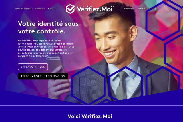 L'application Vérifiez.Moi a été développée par la firme... (IMAGE TIRÉE DU SITE VERIFIEZ.MOI)