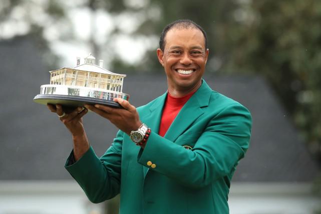 Donald Trump décorera Tiger Woods lundi