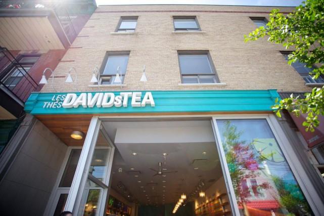 Les thés en sachets de DavidsTea sont déjà... (PHOTO ARCHIVES LA PRESSE)
