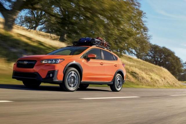 Le Subaru Crosstrek est loin d'être un VUS... (PHOTO FOURNIE PARSUBARU)