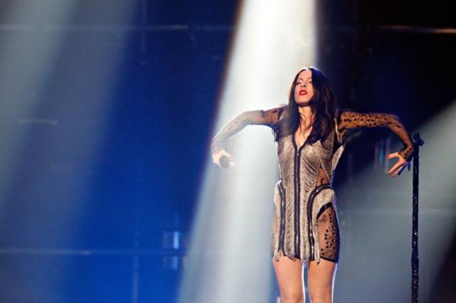 Marie-Mai a chanté Garde tes larmes au gala... (PHOTO FRANÇOIS ROY, ARCHIVES LA PRESSE)