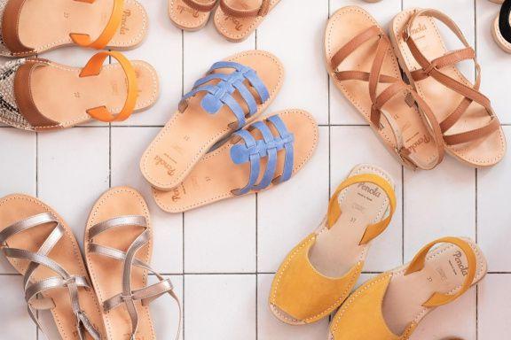 La marque Penota propose de jolies sandales en... (PHOTO TIRÉE DU SITE WEB DE L'ENTREPRISE)