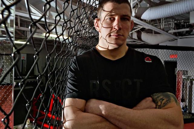 Marc-André Barriault fera finalement ses débuts en UFC,... (PHOTO PATRICE LAROCHE, LE SOLEIL)
