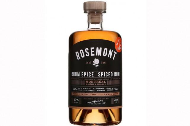 Le rhum épicé Rosemont, de la Distillerie de... (PHOTO FOURNIE PAR LA SAQ)