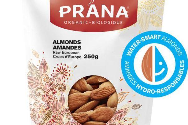 Prana offre désormais des amandes biologiques espagnoles, achetées... (PHOTO FOURNIE PAR PRANA)