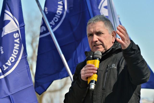 Clement Masse, président du syndicat des travailleurs d'ABI,... (PHOTO PATRICE LAROCHE, ARCHIVES LE SOLEIL)