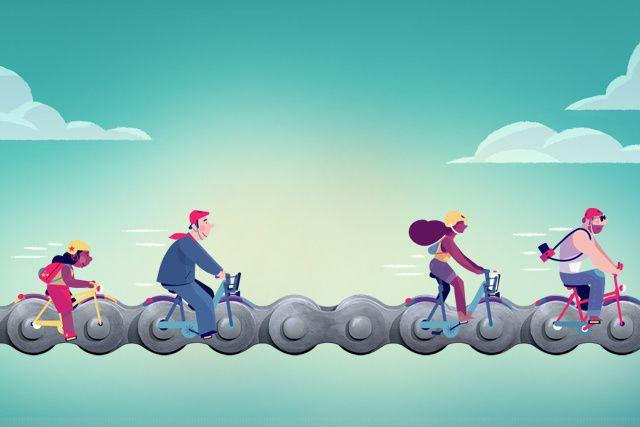 Avec la belle saison qui débute, les vélos sont de retour en plus grand nombre...