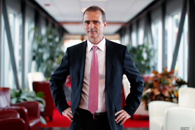 Michel Ganache, président cofondateur de Momentum Technologies... (PHOTO MATHIEU BÉLANGER, ARCHIVES LA PRESSE)