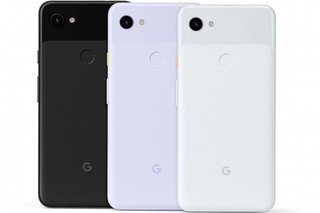 Google a présenté le nouveau modèle de sa... (PHOTO LA PRESSE)