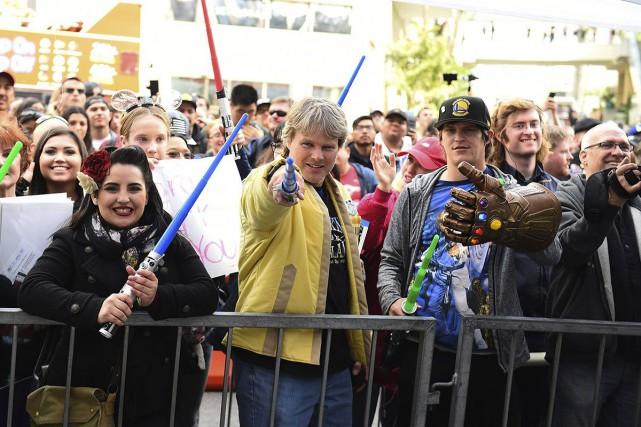 Trois nouveaux films de l'univers Star Wars arriveront... (PHOTO JORDAN STRAUSS, ARCHIVES AP)