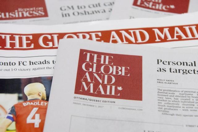 Les employés du Globe ont été avisés que... (PHOTO ADRIAN WYLD, LA PRESSE CANADIENNE)
