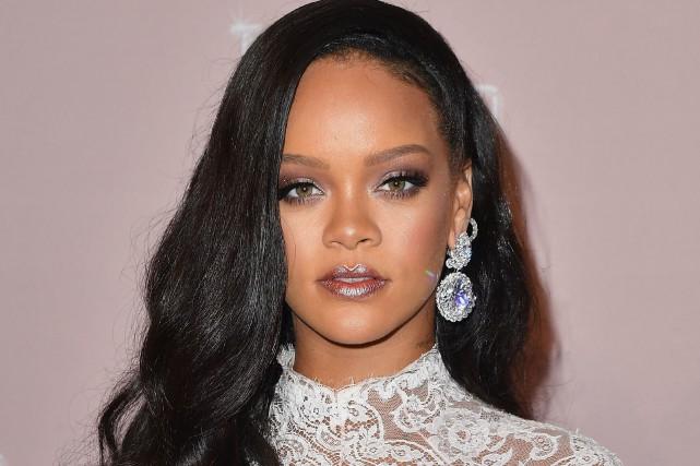 La chanteuse Robyn Rihanna Fenty s'est vue confier... (PHOTO ANGELA WEISS, ARCHIVES AFP)