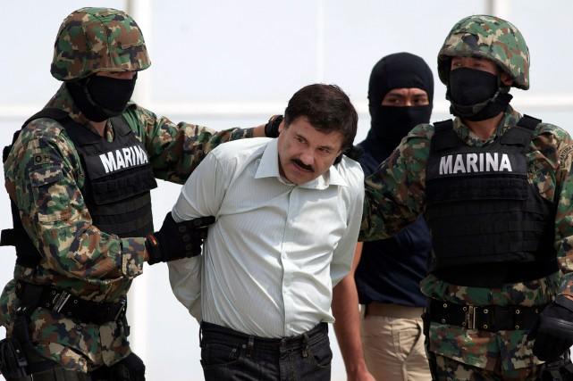 Joaquin Guzman est passible de la réclusion à... (PHOTO AP)