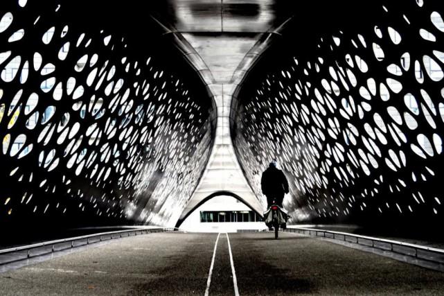Le vélo est le véhicule tout indiqué pour... (PHOTO GUY BERTRAND, COLLABORATION SPÉCIALE)