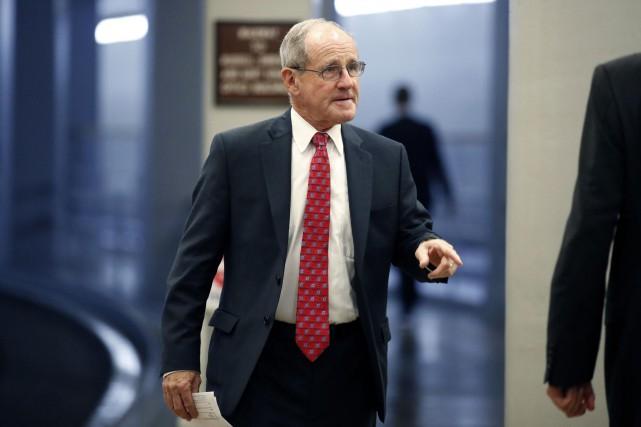 Le Sénateur de l'Idaho, James Risch.... (PHOTO AP)