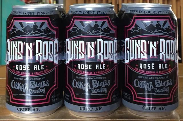 Le groupe Guns N'Roses poursuit en justice un brasseur du Colorado pour avoir... (PHOTO TIRÉE DE FACEBOOK, FILO LIQUORS)