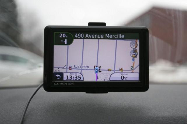 Selon une étude, utiliser un GPS permet d'arriver... (PHOTO FRANÇOIS ROY, ARCHIVES LA PRESSE)
