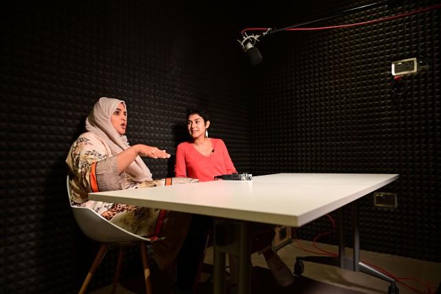 C'est en racontant le destin de femmes qui... (PHOTO GIUSEPPECACACE, AFP)