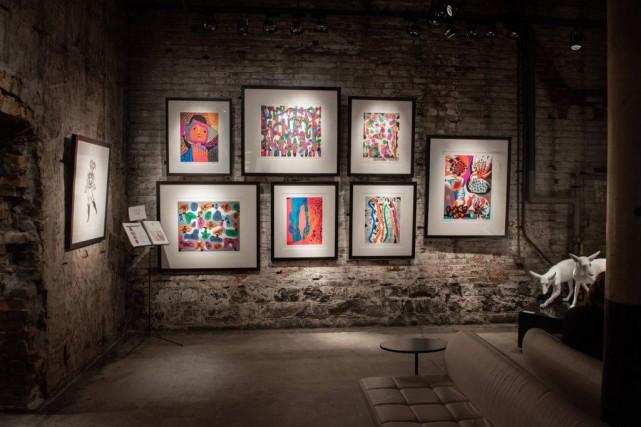 Vue de l'exposition Le printemps Pellan à Toronto,... (PHOTO LISA WIEBE, FOURNIE PAR LE MNBAQ)