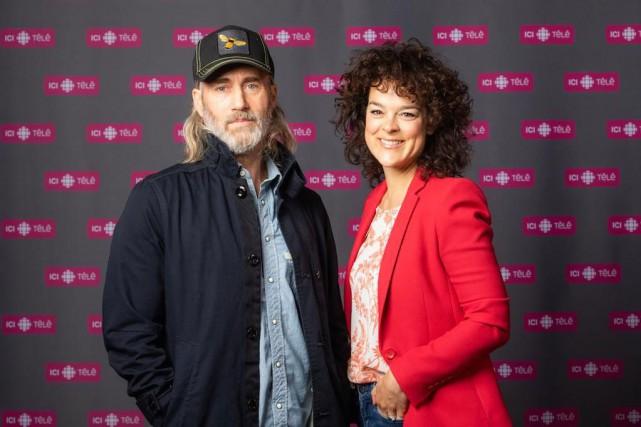 Roy Dupuis et Hélène Bourgeois Leclerc seront les... (PHOTO ICI RADIO-CANADA TÉLÉ)