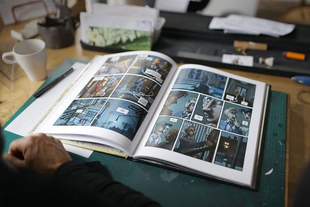 L'adaptation cinématographique de la bande dessinée Magasin général... (PHOTO FANNY LACASSE, ARCHIVES LA PRESSE)