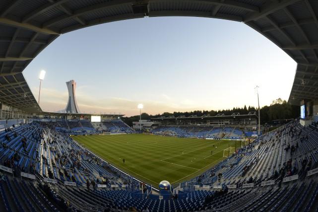 Le stade Saputo est situé dans le Parc... (PHOTO BERNARDBRAULT, LA PRESSE)