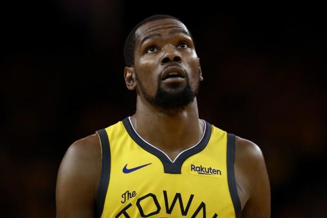 Kevin Durant, meilleur marqueur de Golden State depuis... (PHOTO EZRA SHAW, AFP)