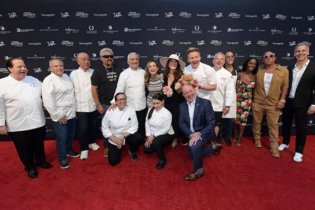 Une brochette de chefs aufestival gastronomique Vegas Uncork'd... (PHOTOFOURNIE PAR VEGAS UNCORK'D)