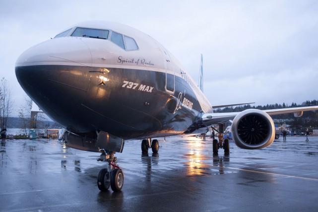 Un Boeing737 MAX8.... (PHOTO MATT MCKNIGHT, ARCHIVES REUTERS)