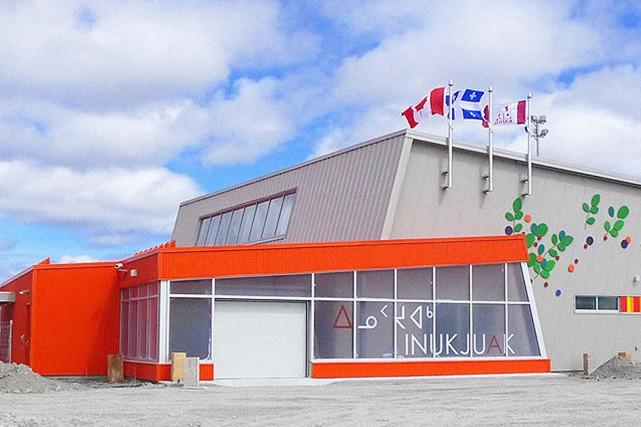 L'aérogare d'Inukjuak, au Nunavik... (PHOTO TIRÉE DU SITE D'EVOQ ARCHITECTURE)