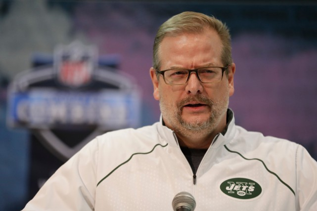 Mike Maccagnan... (PHOTO MICHAEL CONROY, ARCHIVES ASSOCIATED PRESS)