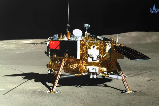 La sonde Chang'e-4 a réussi le 3janvier le... (PHOTO ARCHIVES AGENCE FRANCE-PRESSE)