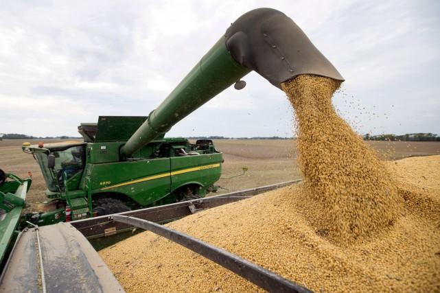Les agriculteurs américains ont exhorté mercredi Donald Trump à nouer «le plus... (PHOTO MICHAEL CONROY, ARCHIVES ASSOCIATED PRESS)
