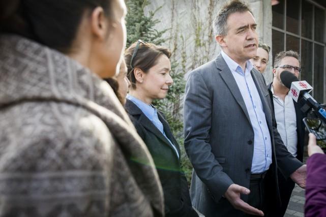 Le maire par intérim de l'arrondissement du Plateau-Mont-Royal,... (PHOTO OLIVIER JEAN, LA PRESSE)