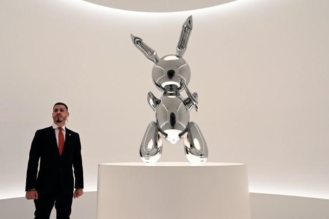 Le Rabbit, qui représente un moulage en acier... (PHOTO TIMOTHY A. CLARY, AFP)