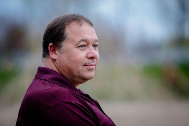 Marc Patrick Roy, qui se décrit comme un... (PHOTO OLIVIERJEAN, LA PRESSE)