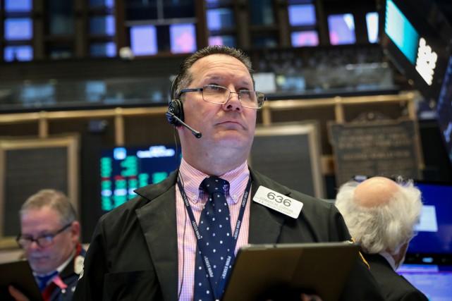 L'indice composé S&P/TSX de la Bourse de Toronto... (PHOTO BRENDAN MCDERMID, REUTERS)