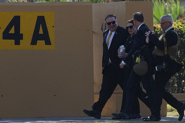 La semaine dernière, le chef de la diplomatie... (PHOTO REUTERS)
