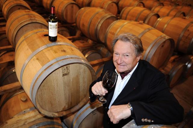 André Lurton, créateur de l'appellation pessac-léognan, est mort... (PHOTO JEAN-PIERRE MULLER, ARCHIVES AFP)