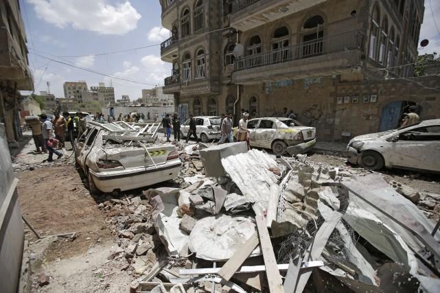La guerre au Yémen oppose depuis plus de... (PHOTO AP)
